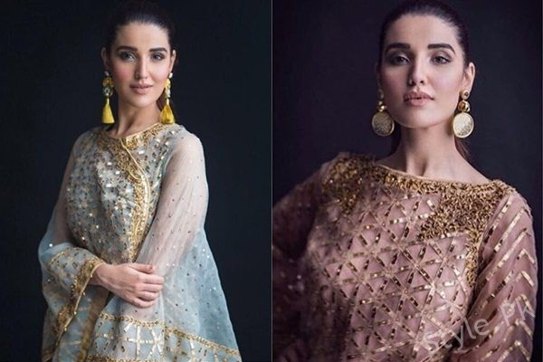 See Hareem Farooq's Beautiful Shoot for Entiwned Collection by Adnan Pardesy