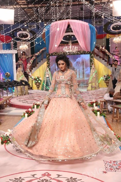 Kashees Bridal Makeup in Shaista Lodhi Morning Show