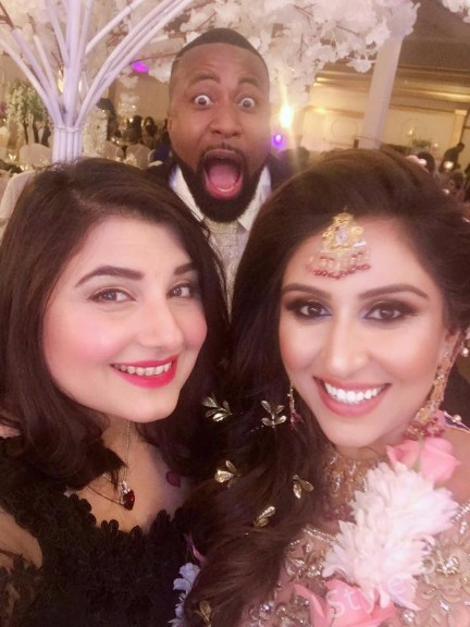 Beautiful Clicks Of Javeria Saud At Her Friend Wedding In USA