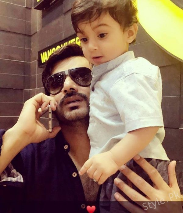 See Zahid Ahmed with his Son