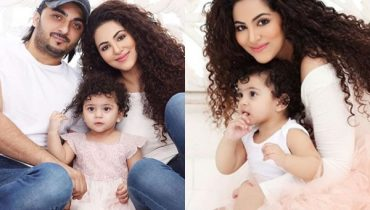 See Annie Khalid's Family Photoshoot on her Daughter's First Birthday