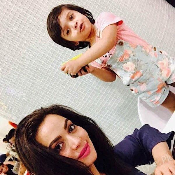 Sadia Imam's Daughter Turns Three