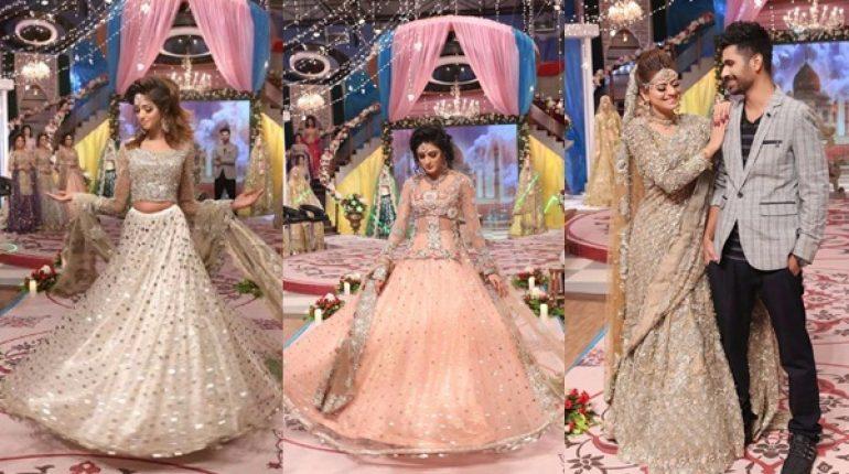 See Pakistani Bridal Fashion Trends displayed in Geo Subha Pakistan
