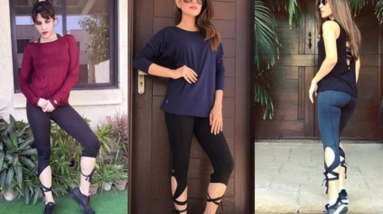See Pakistani Celebrities in Same Workout Outfits