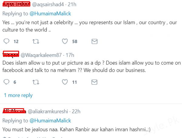 Humaima Malik Tweet On Mahira Khan Issue Made Her Fans Angry