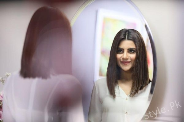 See Sohai Ali Abro's New Haircut for an ad