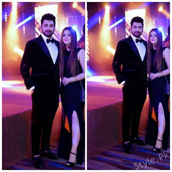See Syed Jibran with his Wife at IPPA Awards 2017