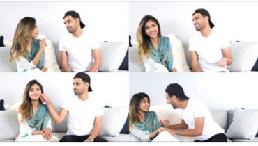 See Zaid Ali's first Video with his Wife