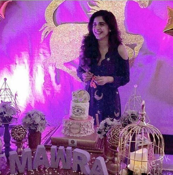 Gorgeous Mawra Hocane Celebrate her Birthday Last Night