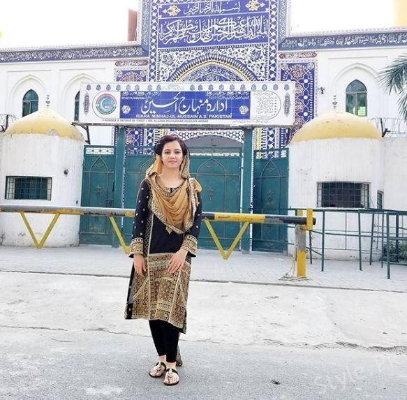 Singer Rabi Peerzada In Imam Bargah