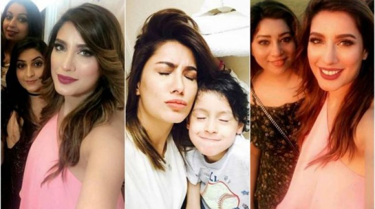 Mehwish Hayat Enjoying Vacations With Her Sister