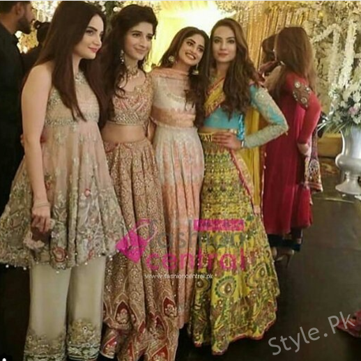 Popular Model Alezay Gabol At Magnum Party In Lahore
