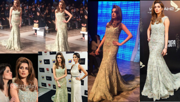 Gorgeous Iman Ali Showstopping for Tabya Khan at PLBW 2017