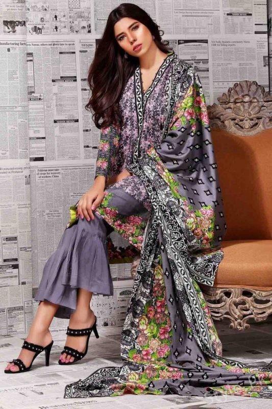 Latest Winter Collection By Warda, latest winter collection 2018, warda, famous designer, latest dresses, pakistani brand, new khaddar designs by warda