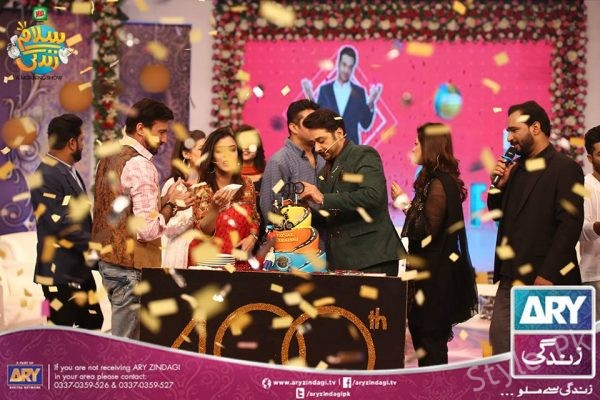 Faysal Qureshi Birthday Celebration In Salam Zindagi