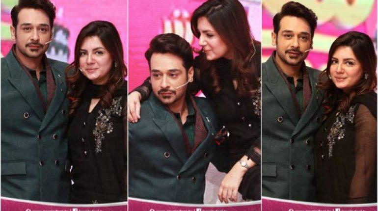 Beautiful Clicks Of Faysal Qureshi With His Wife Sana
