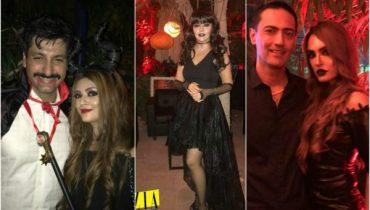 Famous Pakistani Celebrities Celebrated Halloween