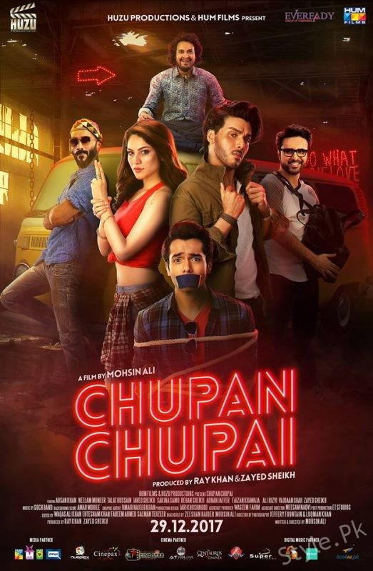 Ahsan-Neelam Starrer Chupan Chupai's Official Poster Revealed