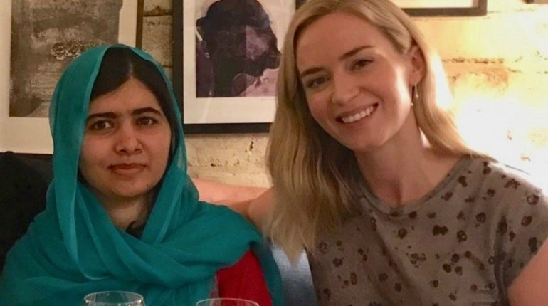 Hollywood Actress Emily Blunt Lends Support To Malala Yousafzai