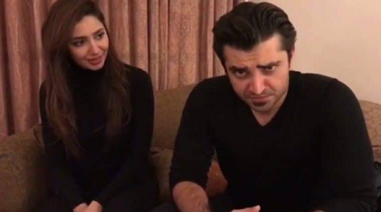 Hamza Ali Abbasi Promotes Verna In Punjabi