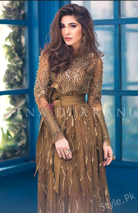 cb9a088aec2f This latest Tena Durrani formal wear collection 2018 for women has been  stylish added all around with the western style of the formal wear outfits.