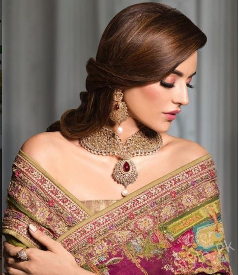 Latest Shoot Of Sadia Khan For Ali Imran Jewellers