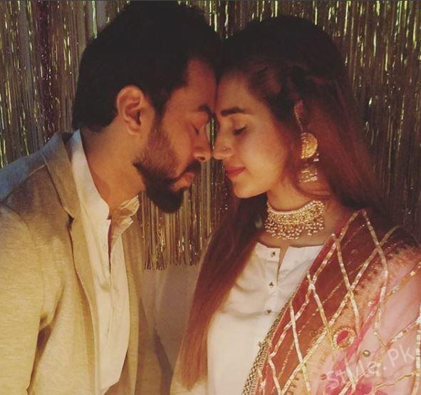 Anum fayaz Celebrates Her First Wedding Anniversary