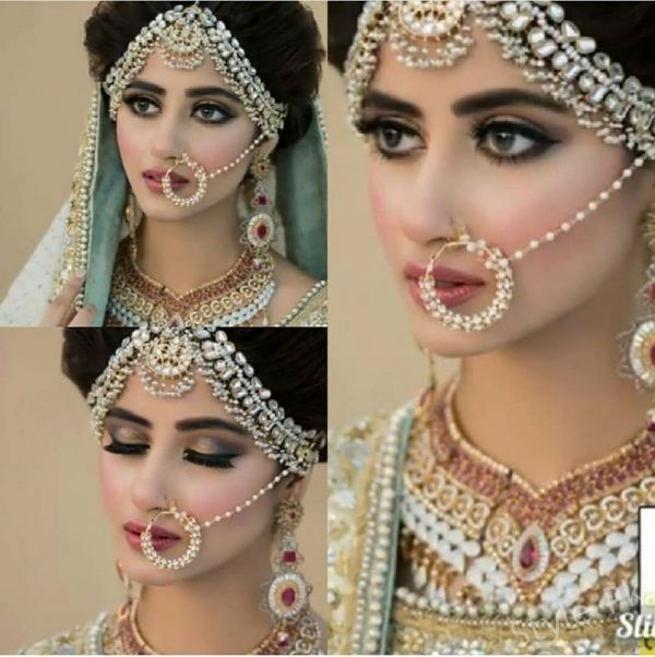 Sajal Ali Bridal Beauty Shoot For Nadia Hussain