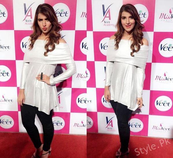 Hareem Farooq At The Event Of Miss Veet Pakistan