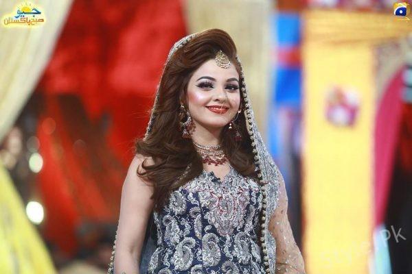 Actress Isha Noor In Geo Subah Pakistan