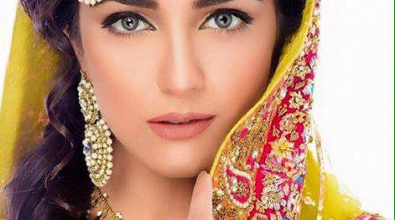 Maya Ali Bridal Look by Akif Ilyas