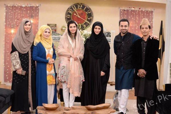 Noor Bukhari in Nida Yasir's Morning Show