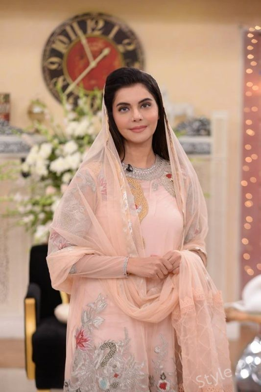 Noor Bukhari in Nida Yasir's Morning Show