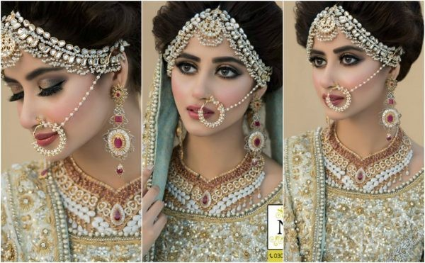 Sajal Ali Bridal Beauty Shoot For Nadia Hussain
