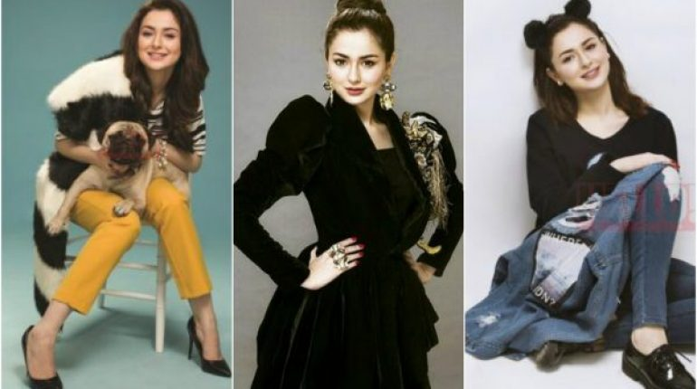 Hania Amir Recent Photoshoot For Hello Pakistan