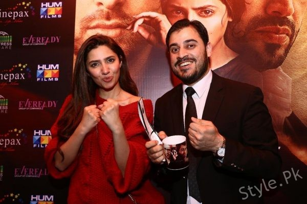 Stunning Mahira Khan During Promotion Of Her Upcoming Film Verna