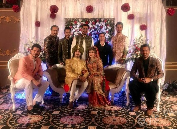 Actor Faraz Farooqui's Wedding Pictures