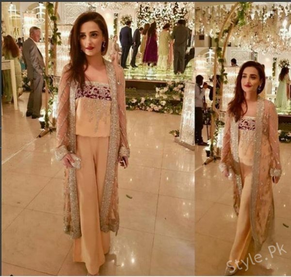 Gorgeous Momal Sheikh Spotted At Wedding