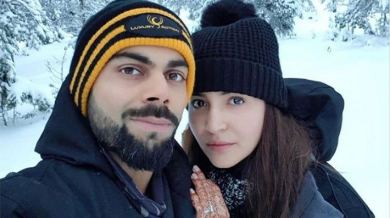 Anushka Sharma's Honeymoon Selfie With Virat Kohli Goes Viral