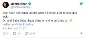 Mahira Khan And Saba Qamar Among The Top 5 Bollywood Debutants Of 2017