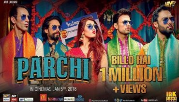 Billo Hai Song From Parchi Crosses A Million Views On Youtube- Says Osman Khalid Butt