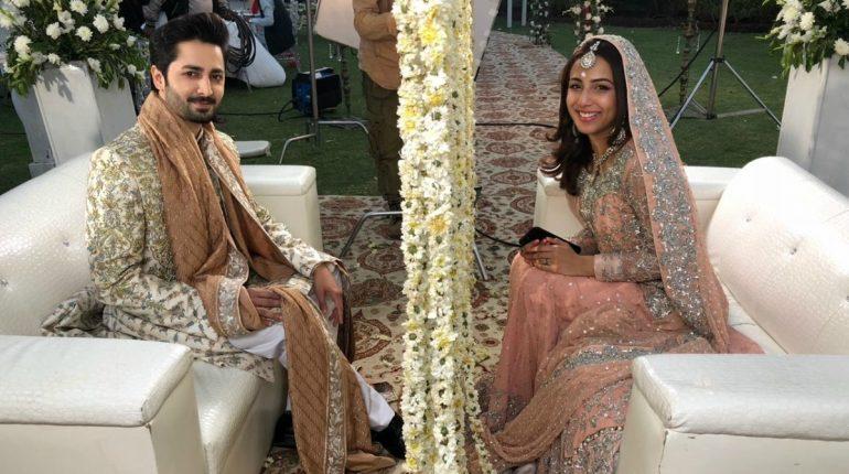 Danish Taimoor And Ushna Shah Pair Up For Her Next Drama