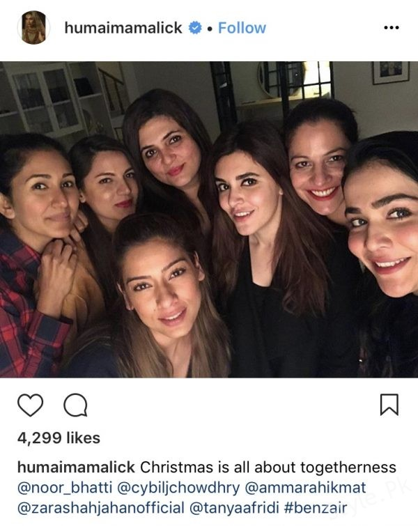 Pakistani Celebrities Enjoy Christmas 2017