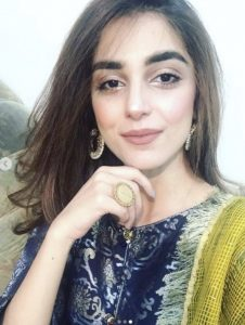 Beautiful Maya Ali At Her Friend Dholki Last Night