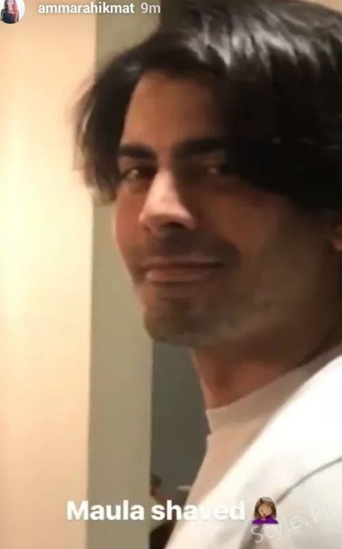 Fawad Khan Has A New Look