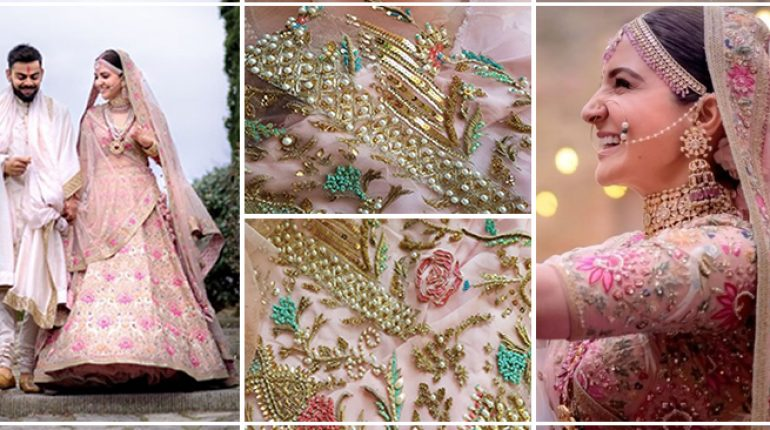 Pakistani Designer Dress And Anushka Sharma Bridal Lehenga