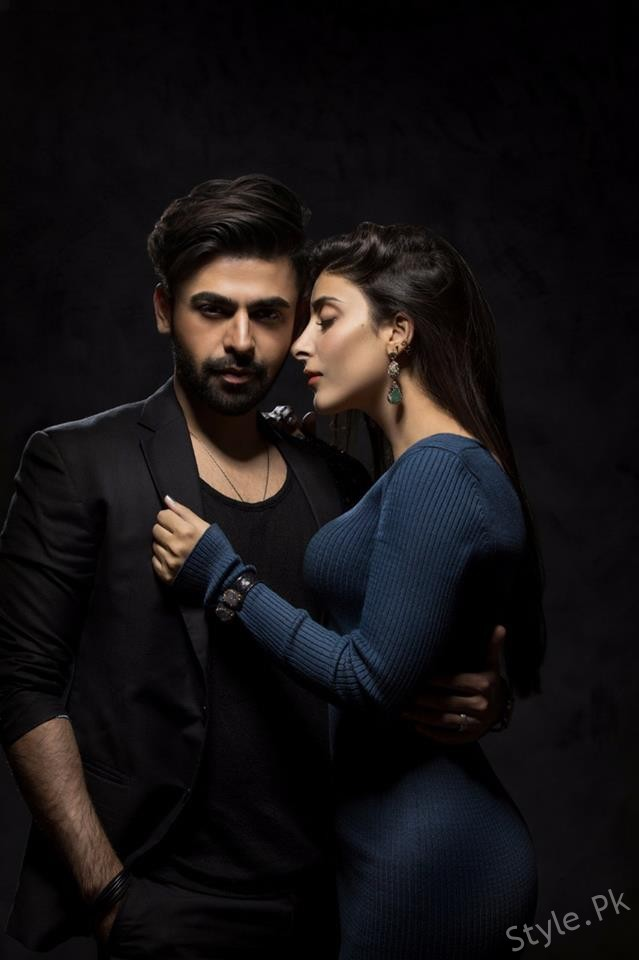 sizzling photo shoot of urwa hocane and farhan saeed