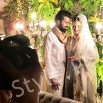 Zara noor abbass looks stunning on her wedding