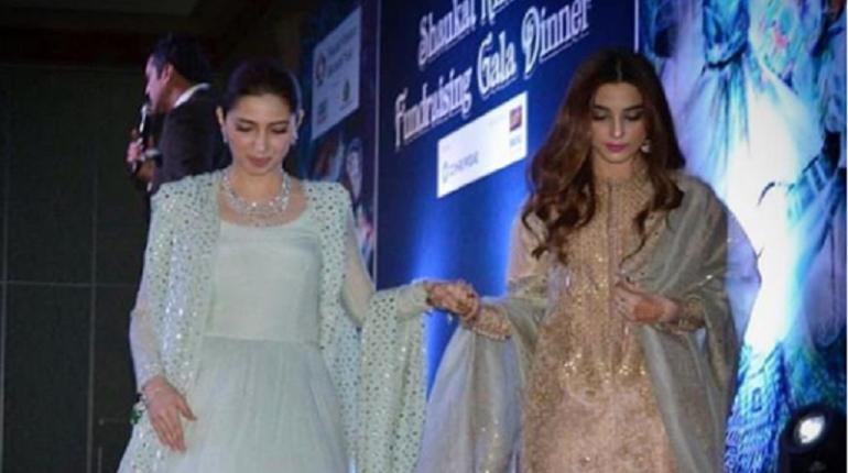 Mahira Khan, Maya Ali Grace The Shaukat Khanum In Dubai