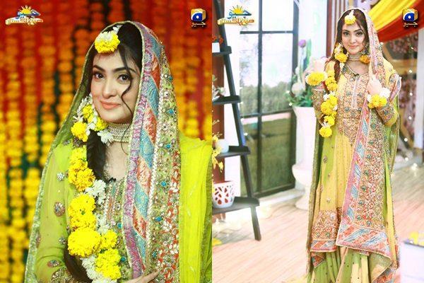 See Aleezay Tahir's Mayun Ceremony